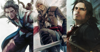 Assassin's Creed Ending fin connor haytham kenway edward arno dorian unity film