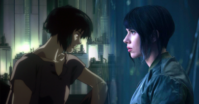 scarlett johansson ghost in the shell the major  390x205 - Ghost in the Shell | La critique du film Live