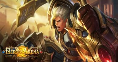 Heroes arena ios android moba mobile