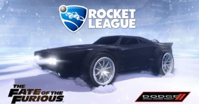 rocket league fate of the furious dlc 2 390x205 - Rocket League | Devenez Vin Diesel avec le DLC Fast And Furious 8
