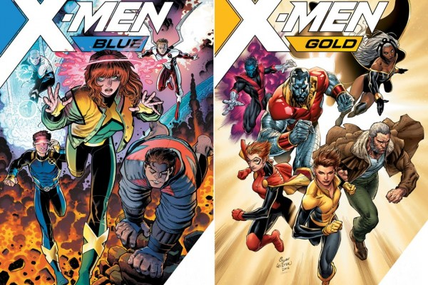 x-men blue & gold