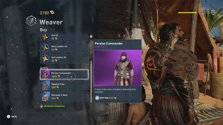 Persian Commander - [Soluce] Assassin's Creed Origins - Les Tenues