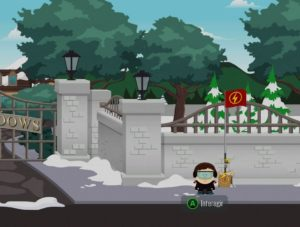 South Park : L'Annale du Destin – Emplacement des points de déplacements rapide