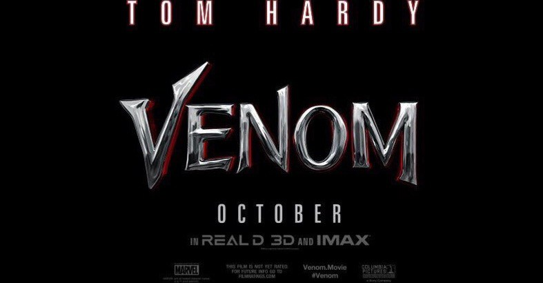 venom logo film 2018 tom hardy