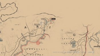 Emplacement ancien Tomahawk, Red Dead Redemption 2, soluce, map, xbox one, ps4, objets cachés, rockstar games