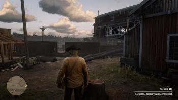 Emplacement hachette à double tranchant rouillé, Red Dead Redemption 2, soluce, map, xbox one, ps4, objets cachés, rockstar games