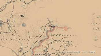 Emplacement hachette de chasseur, Red Dead Redemption 2, soluce, map, xbox one, ps4, objets cachés, rockstar games