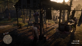 Emplacement masque de cochon, Red Dead Redemption 2, soluce, map, xbox one, ps4, objets cachés, rockstar games