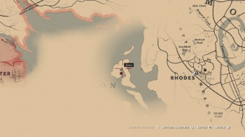 Emplacement Tricorne Red Dead Redemption 2, soluce, map, xbox one, ps4, objets cachés, rockstar games