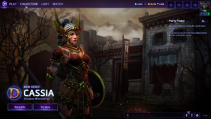 Heroes of the storm Cassia new heroes