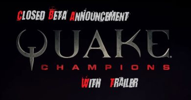 Quake champions game shooter fps closed beta trailer