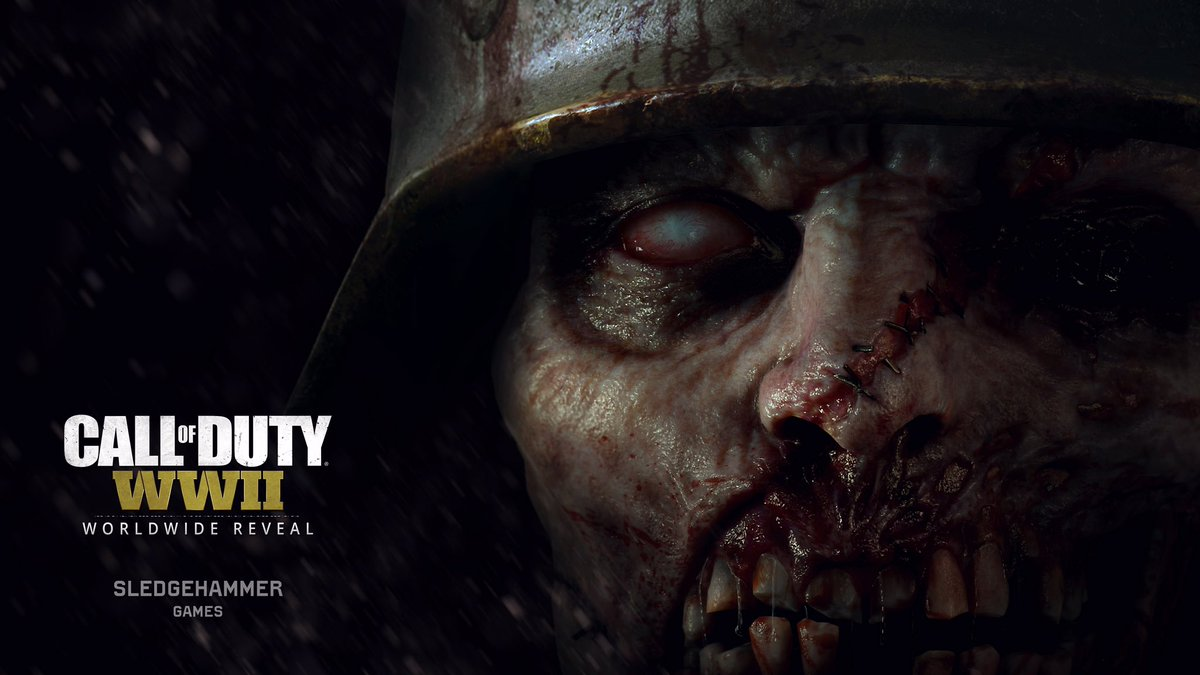 Call of Duty WWII Zombie 2017