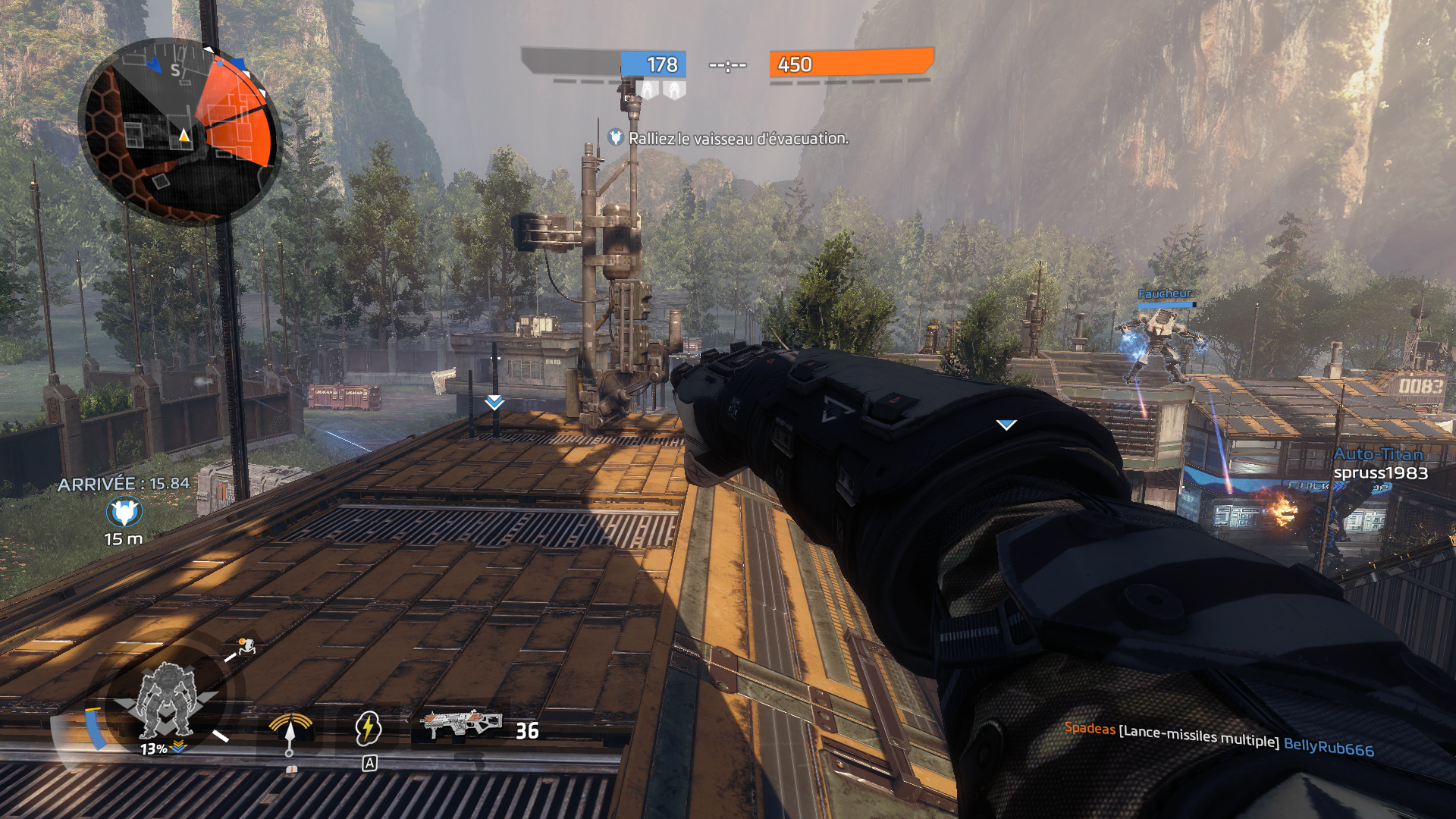 fist titanfall 2 poing coup corps a corps melee