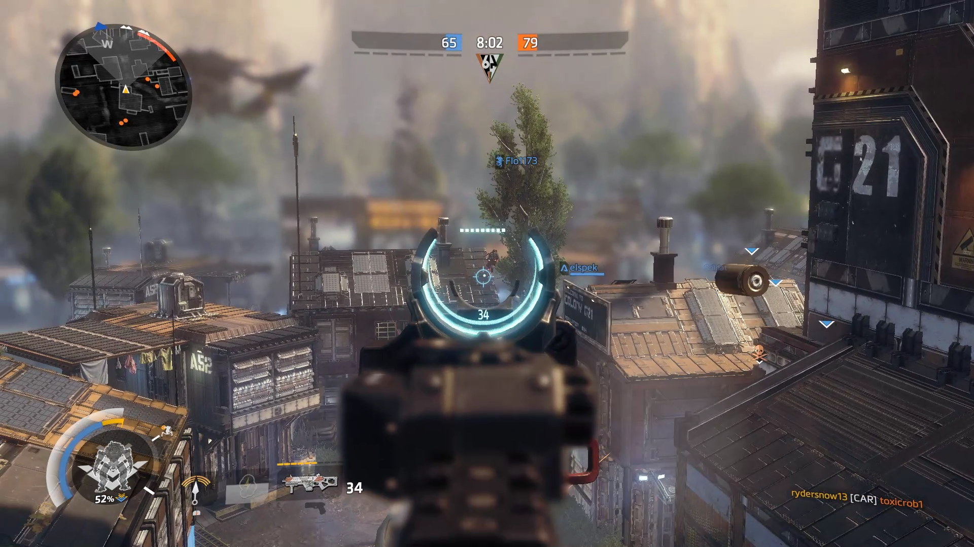 Titanfall 2 zoom