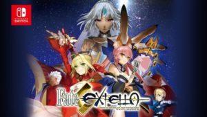 Toutes les sorties jeux sur Nintendo Switch pour Juillet 2017 Fate Extella