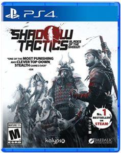 Calendrier des sorties jeux vidéo sur Xbox One en Juillet 2017 shadow tactics