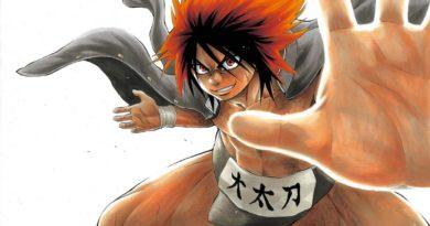 Hinomaru Sumo manga