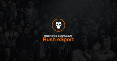 Rush Esport Tv Orange tournois competition