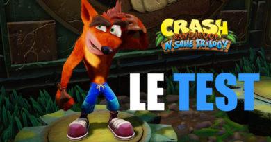 Crash Bandicoot n Sane Trilogy - Le TEST PS4
