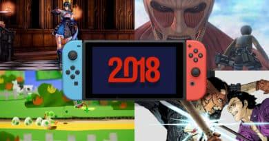 Nintendo Switch para 2018 390x205 - [Sorties] Nintendo Switch – Jeux vidéo Février 2018