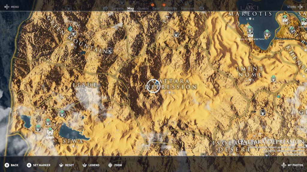 Assassin's Creed Origins - Emplacement Des Énigmes Papyrus Rayon D'Espoir