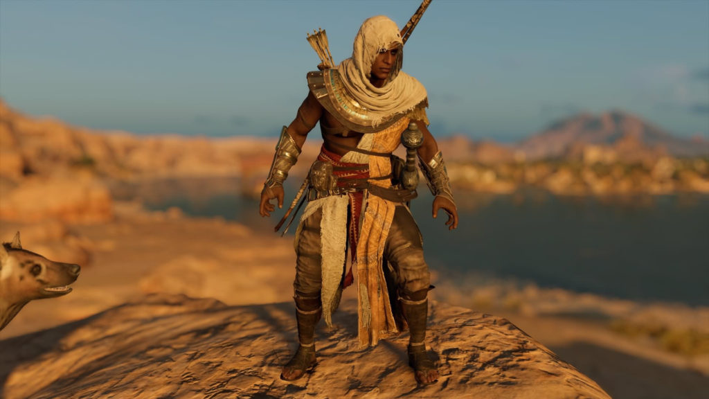 assassin creed origins tenue ps4 xbox one pc