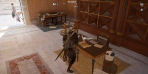 Assassin's Creed Origins Emplacement Des Énigmes Papyrus Le Regard De Pierre solution
