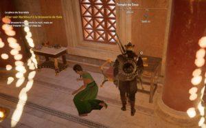 Assassin's Creed Origins - Emplacement Des Énigmes Papyrus Hâte Injustifiée solution