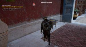 Assassin's Creed Origins - Emplacement Des Énigmes Papyrus Mort ou Vif solution