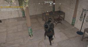 Assassin's Creed Origins - Emplacement Des Énigmes Papyrus Ami Tombé Solution