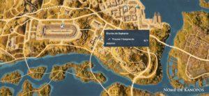 Assassin's Creed Origins - Emplacement Des Énigmes Papyrus Impasse Solution