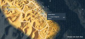 Assassin's Creed Origins - Emplacement Des Énigmes Papyrus Mer De Sable