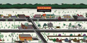 South Park : L'Annale du Destin – Emplacement des points de déplacements rapide