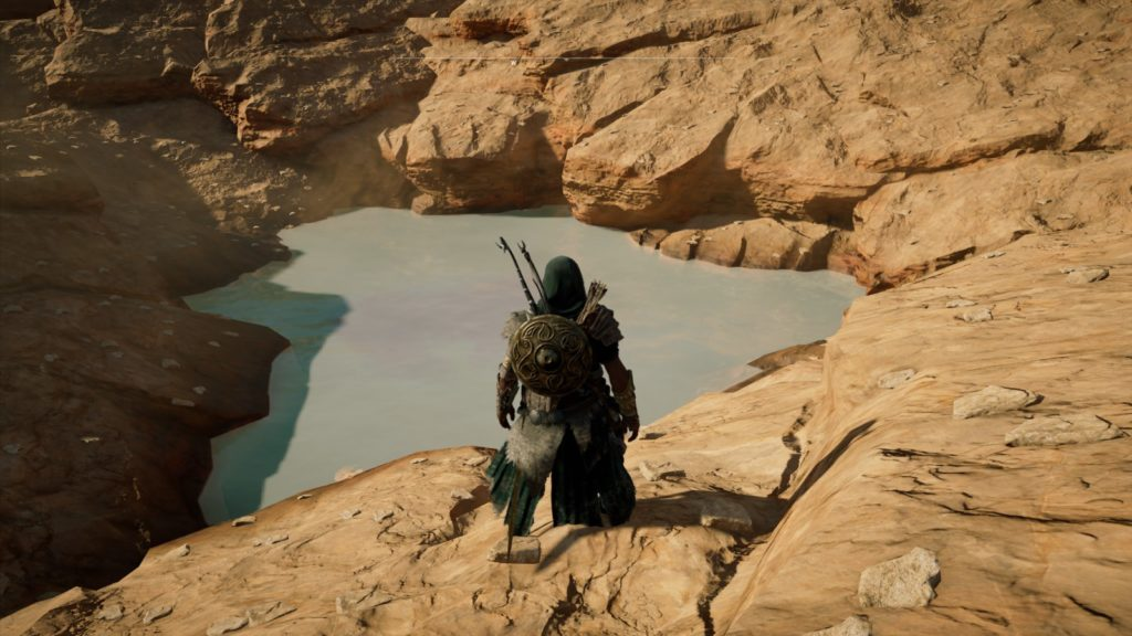 Assassin creed origins secret wales baleine os