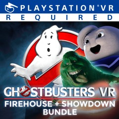 GHOSTBUSTERS VR: FIREHOUSE + SHOWDOWN BUNDLE playstation store mai 2018