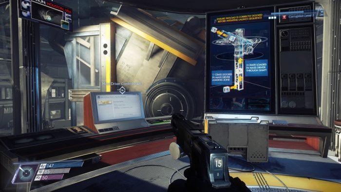 prey mooncrash soluce evasion mimic portail volontaire riley yu dlc solution astuce