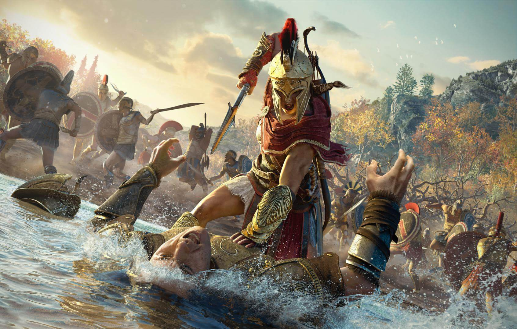 soluce assassin 39 s creed odyssey les secrets cach s game actuality. Black Bedroom Furniture Sets. Home Design Ideas