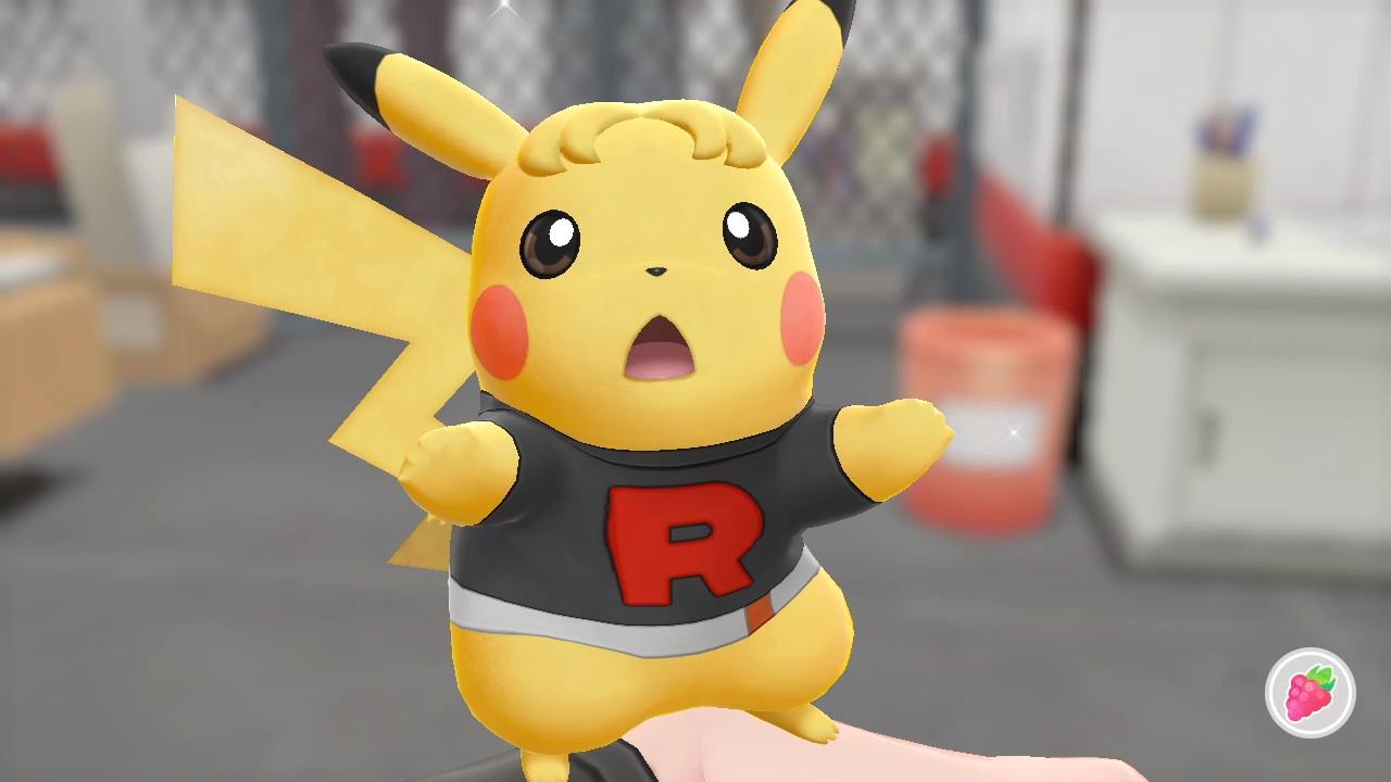 Pokemon lets go pikachu evoli coiffure tenue outfit vêtement accessoire personnaliser