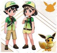 pokemon let s go tenue accessoire coiffure soluce