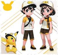 pokemon let s go pikachu evoli soluce tenue accessoire coiffure