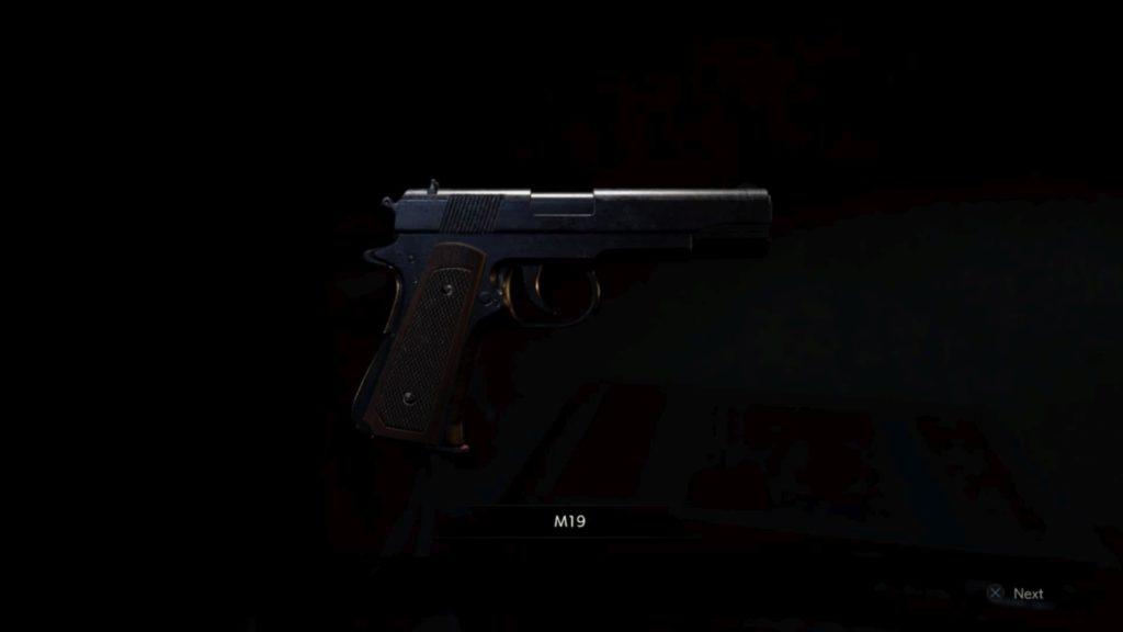 Leon M-19 arme, emplacement, amélioration, resident evil 2, astuce, soluce Resident Evil 2 remake solution soluce ps4 xbox one fr leon claire code cadenas coffre