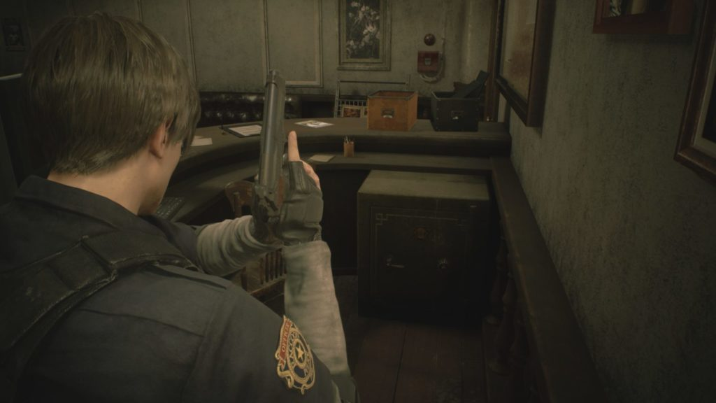 Resident Evil 2 remake solution soluce ps4 xbox one fr leon claire code cadenas coffre